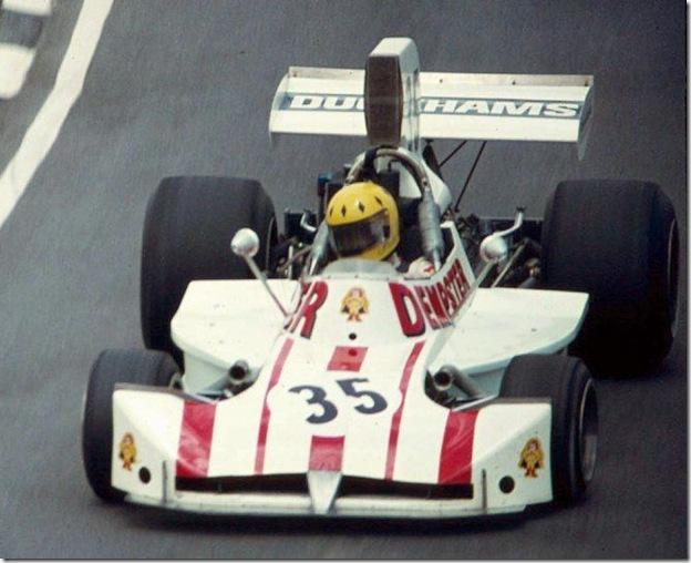 F1DataBase - Mike Wilds - Grã-Bretanha 1974
