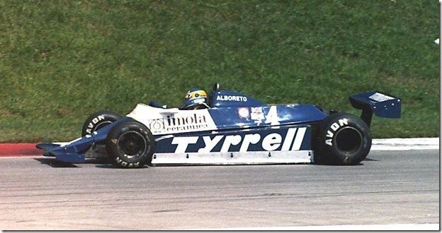 F1DataBase - Michele Alboreto, Tyrrell - Áustria 1981