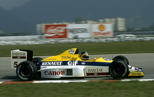 F1DataBase - Thierry Boutsen - Brasil 1989