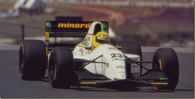 #23 Christian Fittipaldi, Minardi Team, Minardi M193