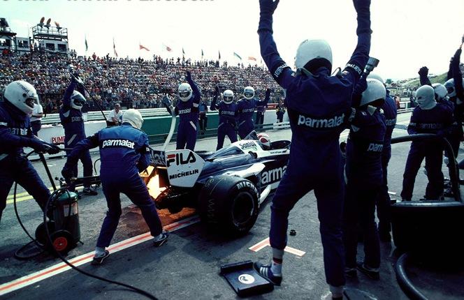F1DataBase - Nelson Piquet - Österreichring 1983