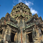 Thommanon - Eight devata (sacred female image) on the southwest corner of the central building. Siem Reap, Cambodia http://www.Devata.org