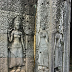 Bayon 2014 The Bayon Goddesses Devata of King Jayavarman VII