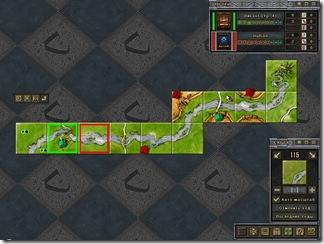 Начало игры с расширением «Река»