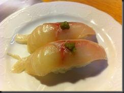 Yoshi's Snapper Sushi wYuzu 3 033111