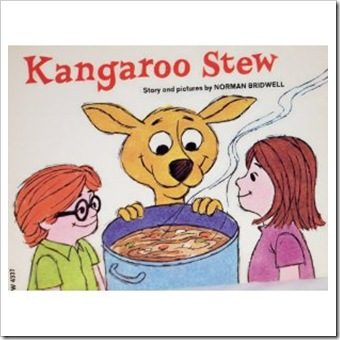 kangaroo stew...