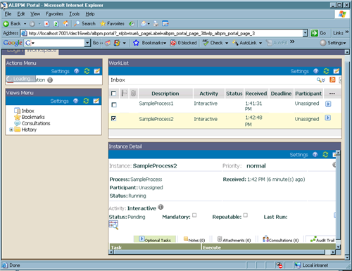 Weblogic Portal