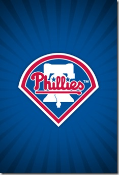 Phillies iPhone logo