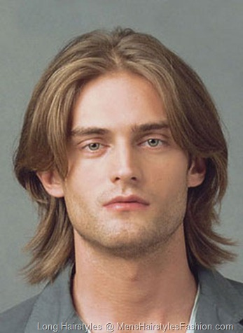 Formal Long Hairstyle for Men