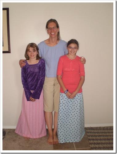 Emily, Karalee, and Rebecca