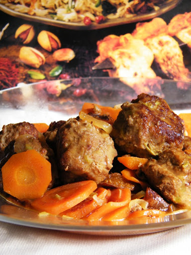 meatballs with carrots and prunes
