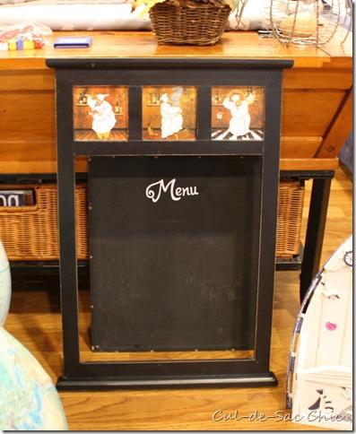Free Menu Board