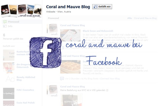 coral and mauve bei Facebook