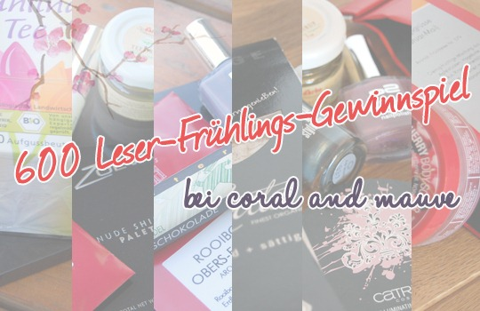 600 Leser-Frhlings-Gewinnspiel
