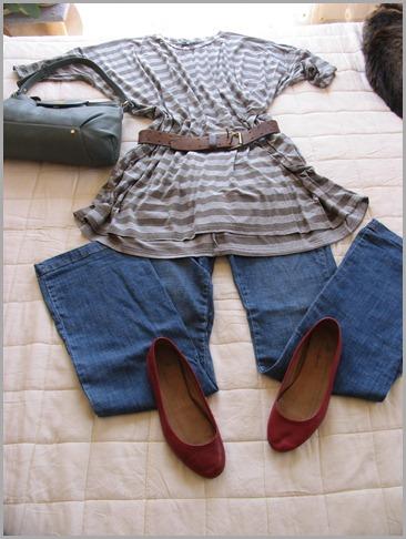 outfitsanon striped tunic 005