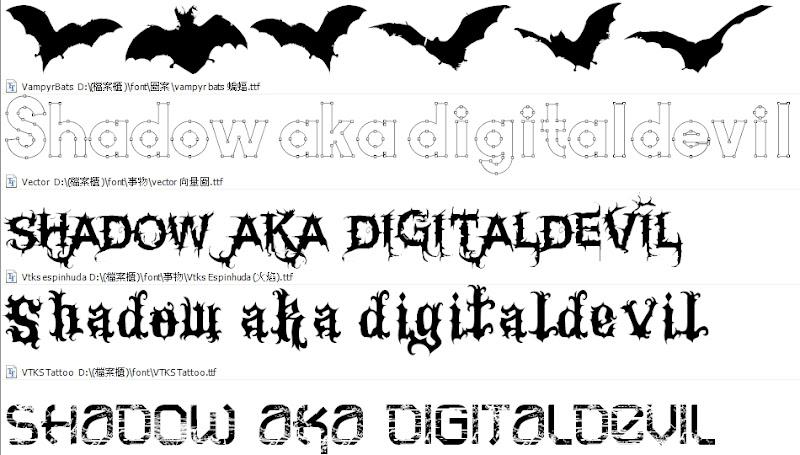 Printer's Apprentice 字型管理軟體