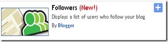 add followers widget to blogger1