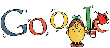 [76th Birthday Of Roger Hargreaves-Little Miss Magic Google Doodle Logo[4].jpg]