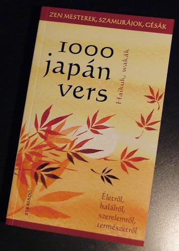 1000 japán vers borító