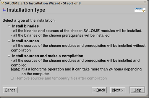 Screenshot-SALOME 5.1.5 Installation Wizard - Step 2 of 8