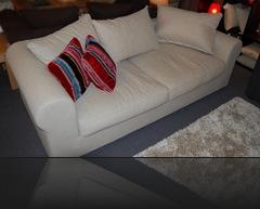 Canapé classique blanc
