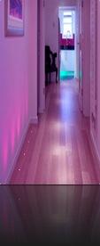 Idée déco couloir rose