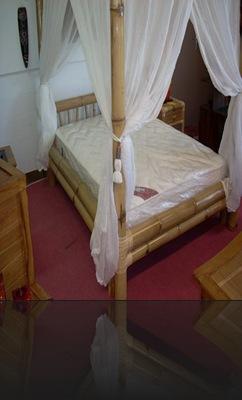 Chambre en bambou