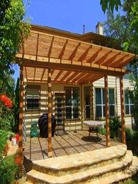 Pergola en bois design