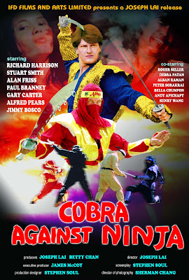 Cobra Against Ninja (Cobra vs. Ninja) (1987, Hong Kong) movie poster