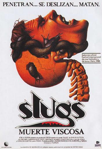 Mutations (Juan Piquer Simón - 1988) Slugs_poster_01