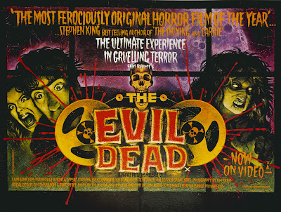 The Evil Dead (1981, USA) movie poster