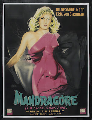 Unnatural (Alraune, aka Mandrake) (1952, Germany) movie poster
