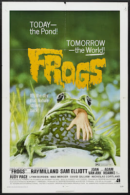 Frogs (1972, USA) movie poster