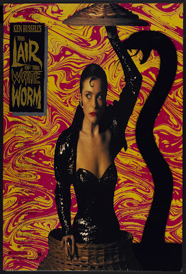 The Lair of the White Worm (1988, UK) movie poster