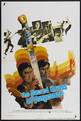 Sacred Knives of Vengeance (Da sha shou) (1972, Hong Kong) movie poster