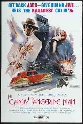 Candy Tangerine Man (1975, USA) movie poster