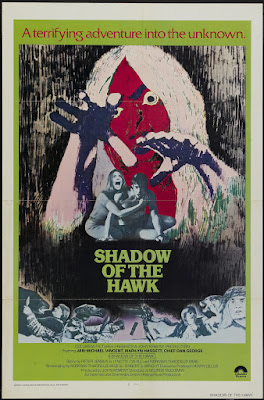 Shadow of the Hawk (1976, USA) movie poster