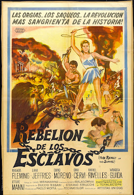 Revolt of the Slaves (La rivolta degli schiavi) (1960, Spain / Italy / Germany) movie poster