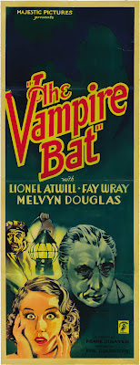 The Vampire Bat (1933, USA) movie poster