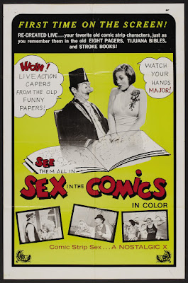 Sex in the Comics (1973, USA) movie poster