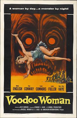 Voodoo Woman (1957, USA) movie poster