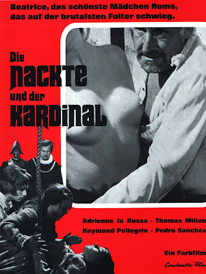 The Conspiracy of Torture (Beatrice Cenci) (1969, Italy) movie poster