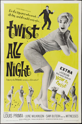 Twist All Night (aka The Continental Twist) (1961, USA) movie poster