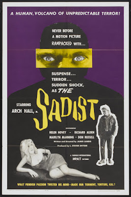 The Sadist (1963, USA) movie poster