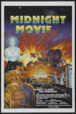 Midnight Movie Massacre (aka Attack from Mars) (1988, USA) movie poster
