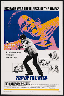Top of the Heap (1972, USA) movie poster