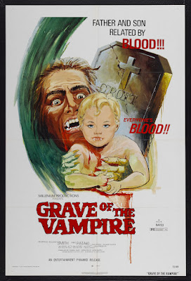 Grave of the Vampire (1974, USA) movie poster