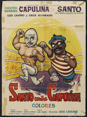 Santo vs. Capulina (Santo contra Capulina) (1969, Mexico) movie poster
