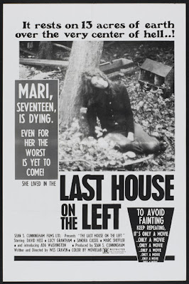 The Last House on the Left (1972, USA) movie poster