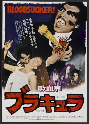 Blacula (1972, USA) movie poster